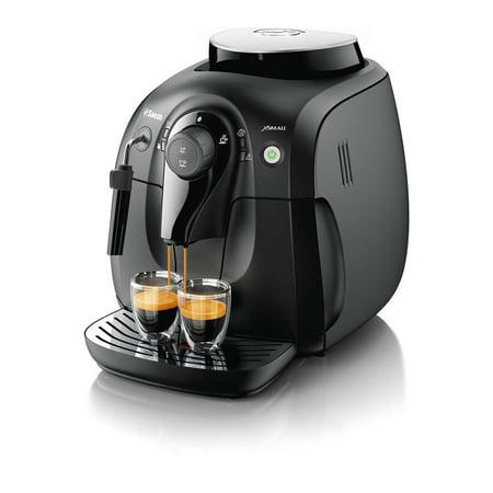 Saeco Xsmall Vapore Black Super-Automatic Espresso