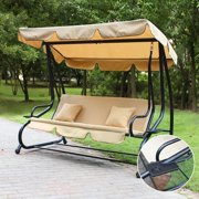 Adeco Trading Porch Swing with Stand