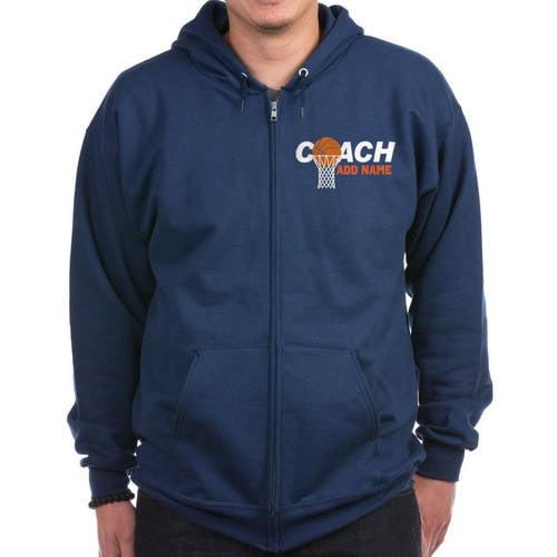 Cafepress Personalized Best Coach Ever Zip Hoodie