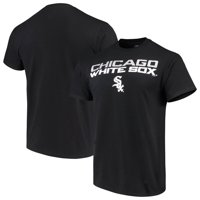 Men's Majestic Black Chicago White Sox Bigger Series Sweep T-Shirt
