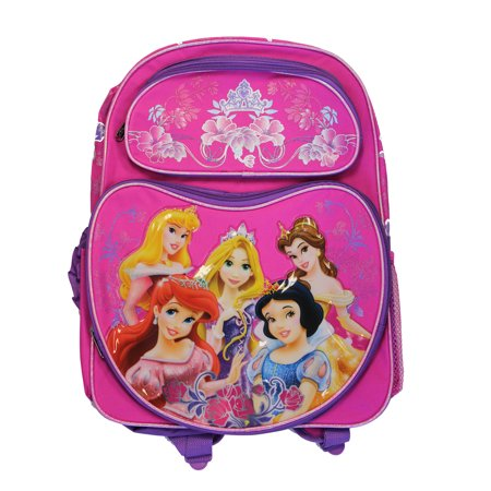 Full Size Pink and Purple Disney Princess Backpack - Disney Princess