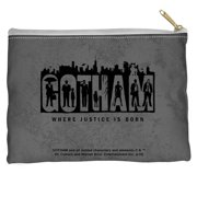 Gotham Logo Accessory Pouch White 12.5X8.5