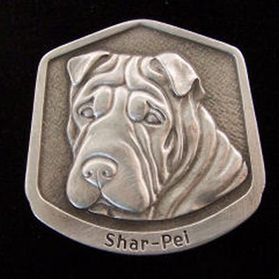Shar-pei Fine Pewter Dog Breed Ornament The sculpted image of your pet is surrounded with a wreath of holly and ivy. You will treasure this ornament for years to come. hey are made of Fine Pewter and come in a Christmas gift box for storing. Lindsay Claire is a Canadian manufacturer of Fine Pewter Gifts and Collectibles.  Each pewter item is cast in our shop from fine pewter and meticulously hand polished to a satin finish.Ornament is approximately 3  and has a satin cord attached for hanging.