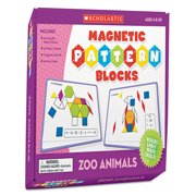 Scholastic Magnetic Pattern Blocks, Zoo