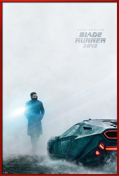 "Blade Runner 2049 Movie Poster   Print (Teaser Ryan Gosling) (Size: 24"" x 36"") by"