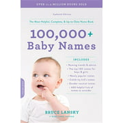 100,000+ Baby Names : The most helpful, complete, & up-to-date name book