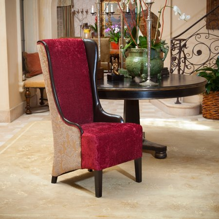 Noble House Betsy High-Back Multi-Colored Fabric Dining Chair ()
