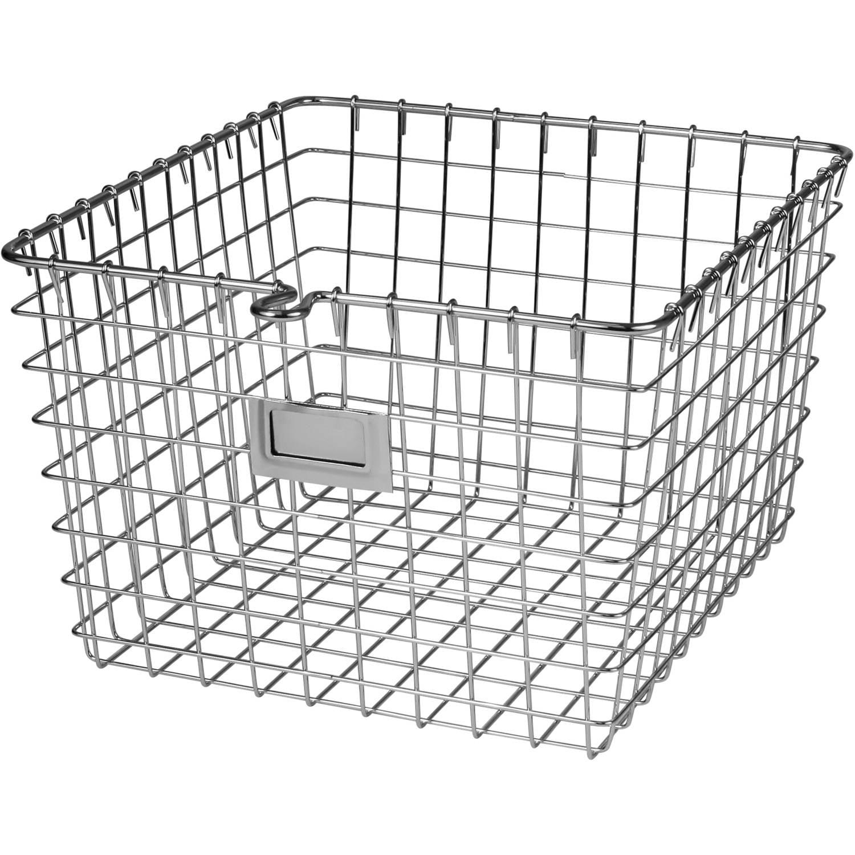 spectrum medium storage basket walmart Plastic Storage Bins