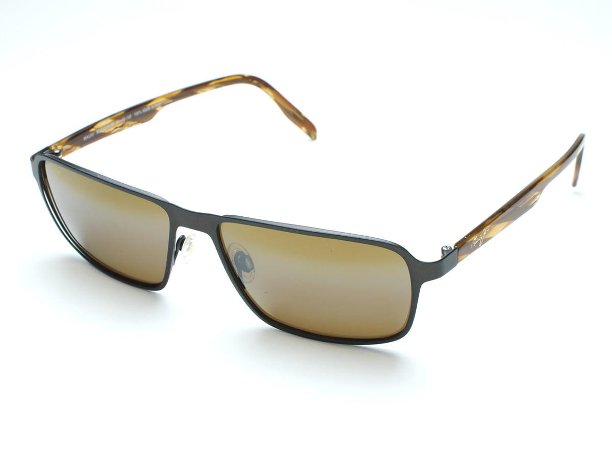 Sugar Beach H421 Maui Jim Sunglasses Rimless Frame with Patented PolarizedPlus2 Lens Technology Polarized Lenses