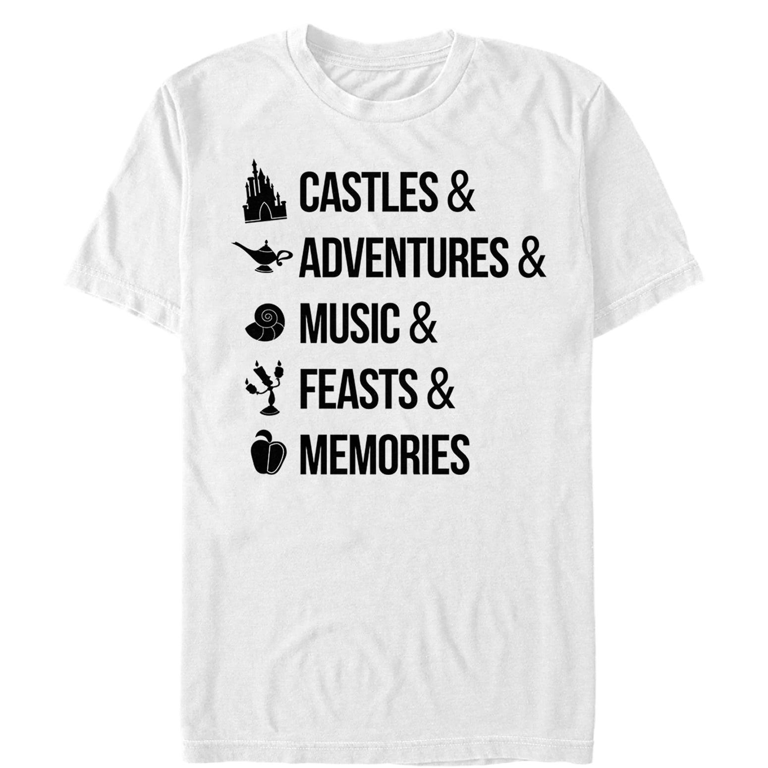 Disney Princesses Men's Princess Keywords T-Shirt
