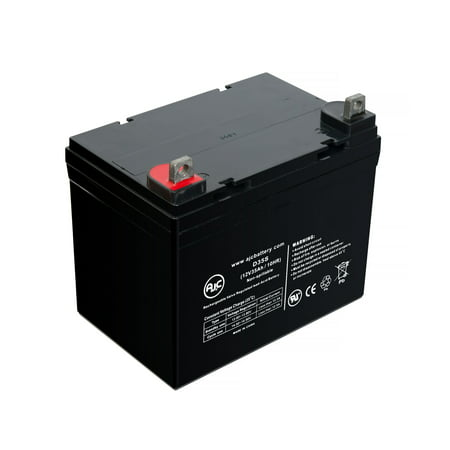 Intellipower Double Conversion 120AVC 12V 35Ah UPS Battery - This is an AJC Brand Replacement