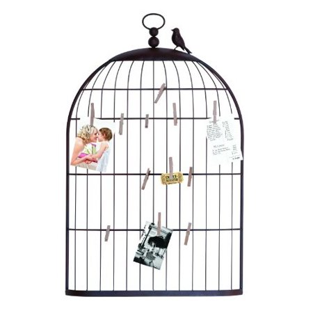 Unique Photo Holder As A Charming Bird Cage