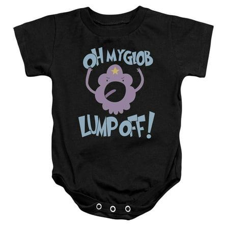 Adventure Time Boys' Lump Off Bodysuit Black](Adventure Time Onesie)