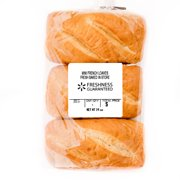 Freshness Guaranteed Mini French Loaves, 14 oz, 3 Count