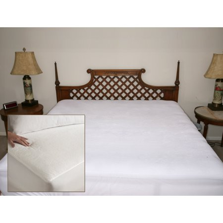 Living Health Products Terry Water Kin Terry Waterproof Mattress Protector   King
