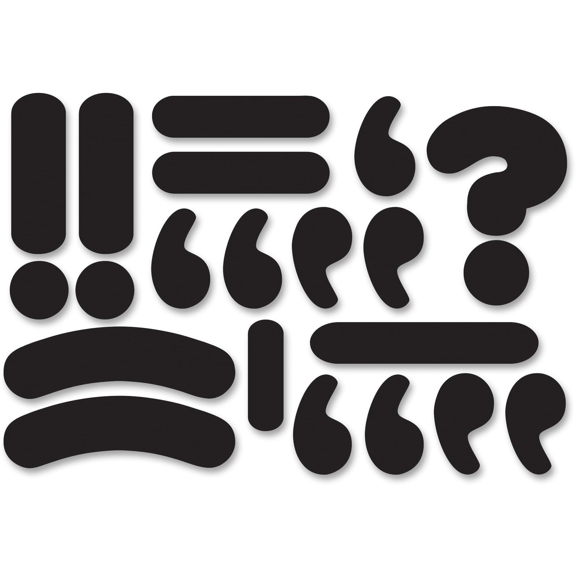 Ashley, ASH10099, Magnetic Die-cut Punctuation Marks, 1 Set