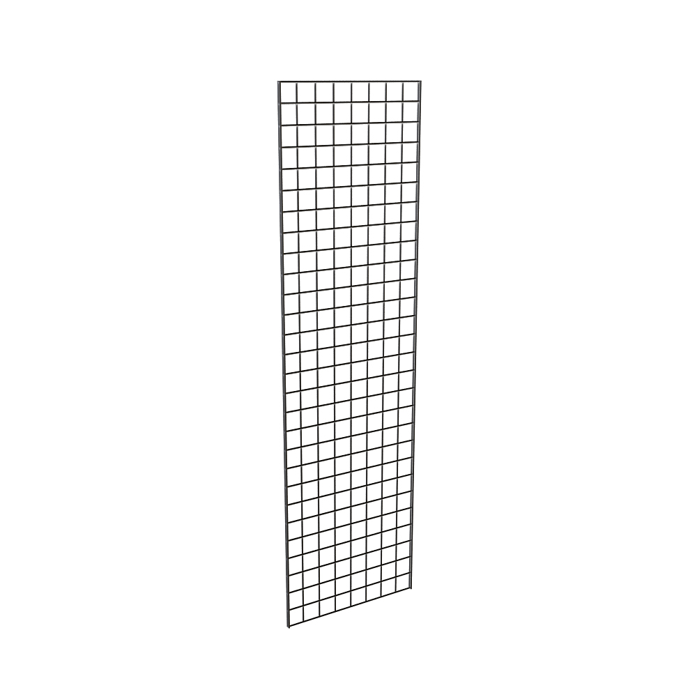 Gridwall Panel 2w x 5h Feet in Chrome Finish Case of 4
