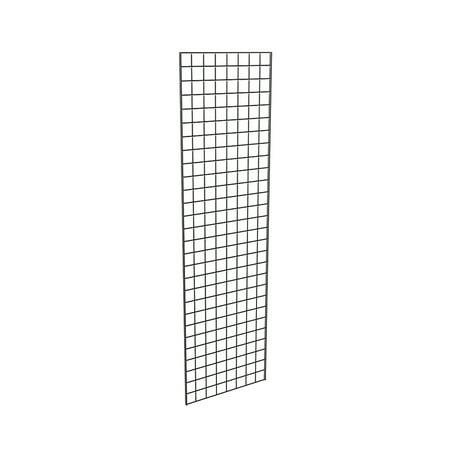 Grid Panel for Retail Display â Perfect Metal Grid for Any Retail Display, 2â Width x 7â Height, 3 Grids Per Carton (Black)