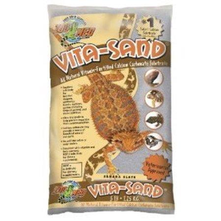 Zoo Med Vita Sand, 5 Pounds, Sahara Slate Multi-Colored ()