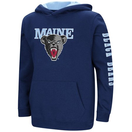 3bb57e2f7be Youth Maine Black Bears Pull-over Hoodie - L - Walmart.com