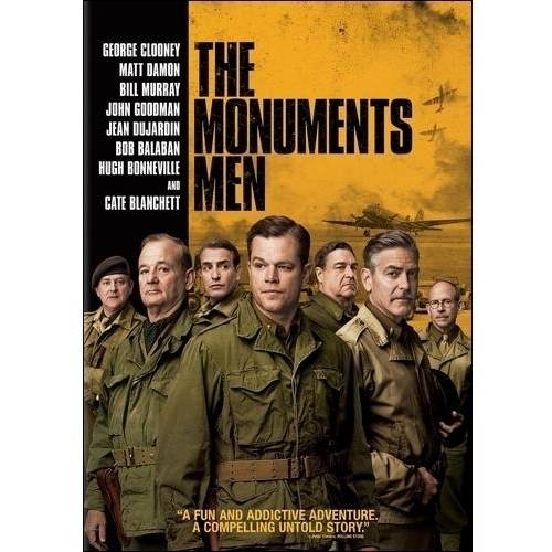 The Monuments Men (DVD + Digital Copy) (With INSTAWATCH) (Widescreen)