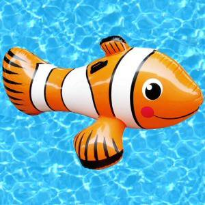 Inflatable Clown Fish Ride-on Pool - Inflatable Clown Fish