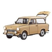 Model Kit - Trabant 601Universal - 1:24 Scale Multi-Colored