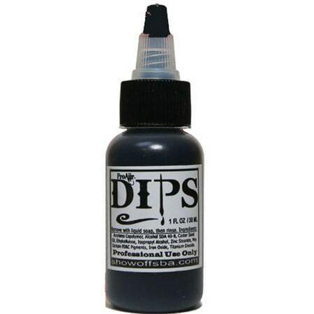 ProAiir Dips Waterproof Makeup - Black (1 oz)