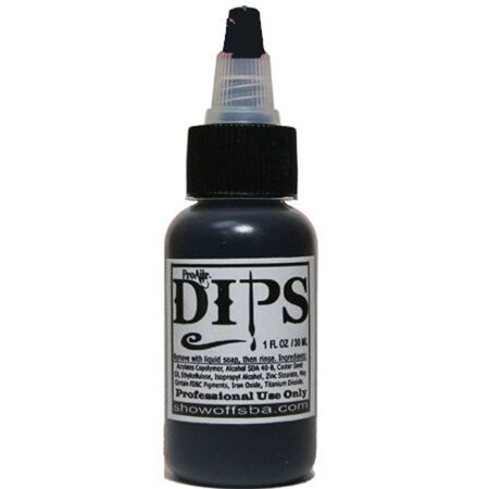 ProAiir Dips Waterproof Makeup - Black (1 oz) for $<!---->
