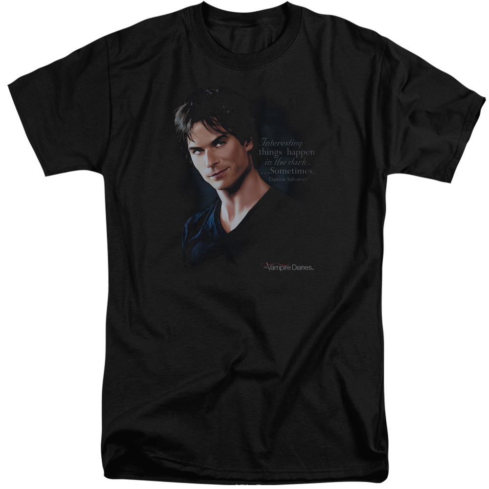 Vampire Diaries Sometimes Mens Big and Tall Shirt