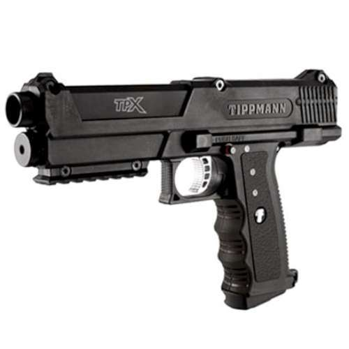 Tippmann TPX TiPX Paintball Marker with Case and 2 Clips - Black