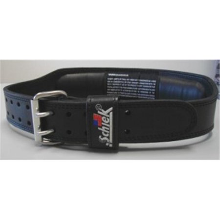 Black Large Schiek Sports Model J2014  Leather Jay Cutler Lifting Belt Fitness & Laufbekleidung