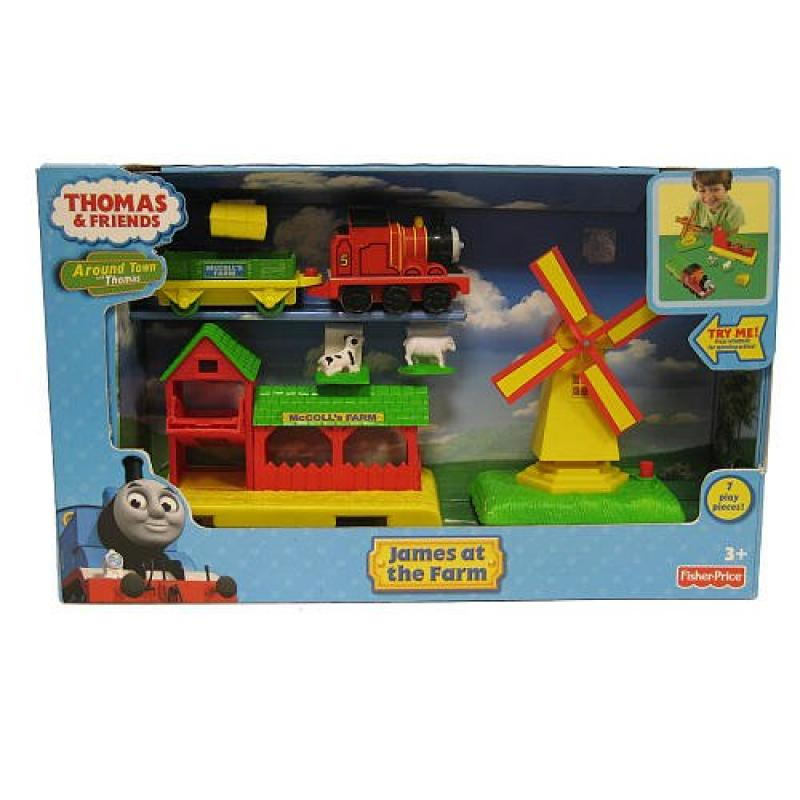 Thomas and Friends James Visits the Farm Playset by