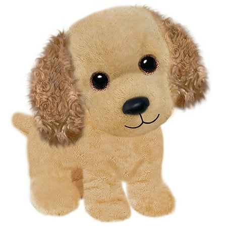 First and Main - Wuffles Cocker Spaniel Plush Dog, 7 Inches Sitting (English Toy Cocker Spaniel)