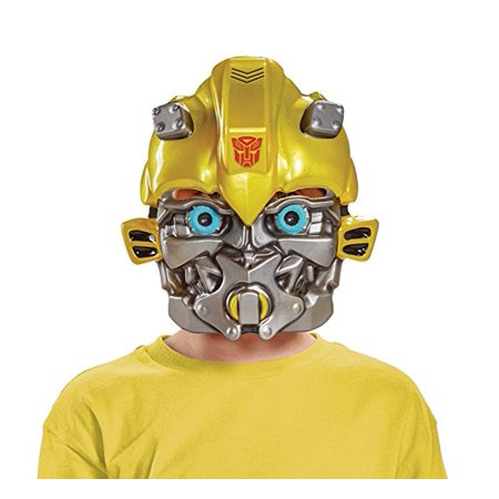 Plastic Half Mask (Bumblebee Child Half Mask)