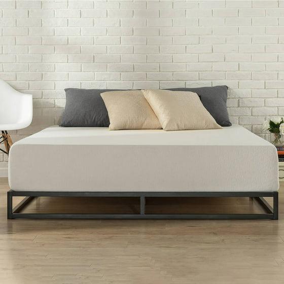 zinus platforma low profile 6 bed frame. Black Bedroom Furniture Sets. Home Design Ideas