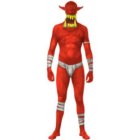 Monster Collection Red Orc Adult - Orc Costume