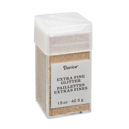 - Extra Fine Glitter: Champagne, 1.5 ounces