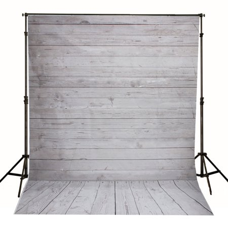 7x5FT/5x7FT Photography Vinyl Fabric Background Backdrop Photo Studio Props Superhero City Building / Wooden Wall Floor - Prom Backgrounds