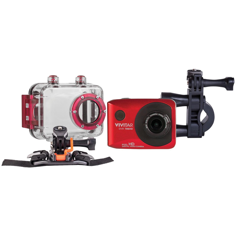 Vivitar 12 1mp Full Hd Waterproof Action Camcorder Walmart Com Walmart Com