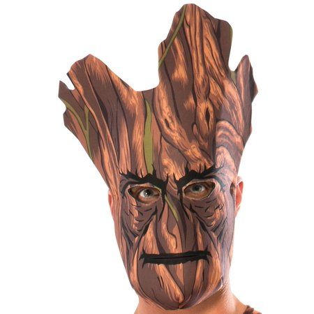 Guardians of the Galaxy Groot Foam 1/2 Costume Mask Child One Size - Dinosaur Foam Masks