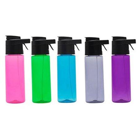 O2cool HMSSR08 Prism 24oz Mist N Sip Single Wall Hydration Bottle