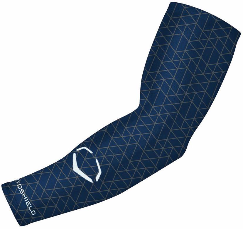 evoshield evorcharge compression arm sleeve adult navy lx/l