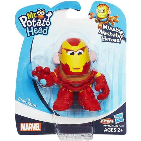 Mixable Mashable Heroes Mr. Potato Head as Iron Man (Mr Potato Head Iron Man Tony Starch)