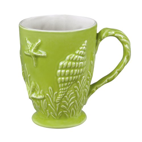 Andrea by Sadek Coastal Shell Coffee Mug