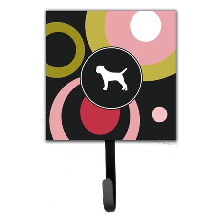 Caroline's Treasures Border Terrier Leash Holder and Wall Hook