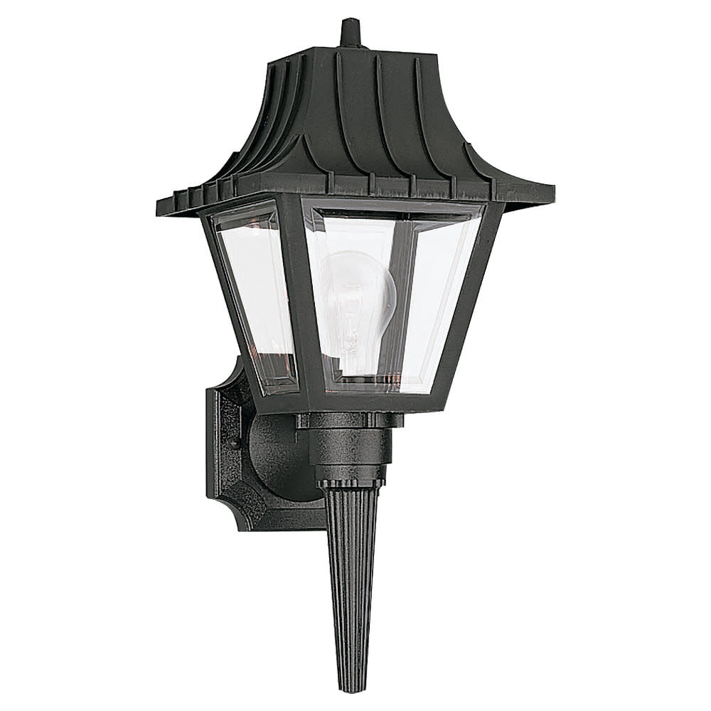 Sea Gull Lighting 8720 Polycarb Painted Lanterns 1 Light Outdoor Lantern Wall Sc