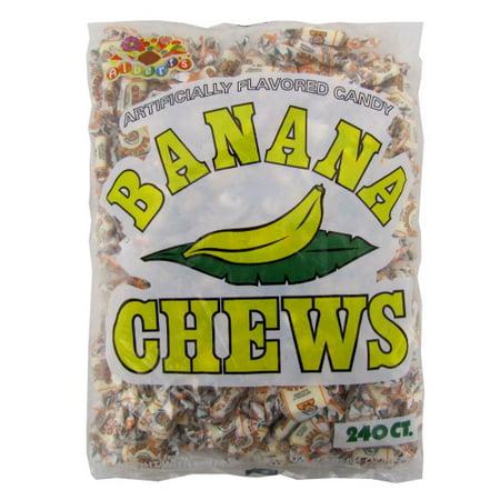 ALBERT'S CHEWS BANANA 240 CT BAG](Banana Candy)
