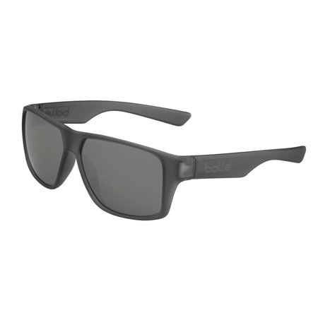 Brecken Matte Grey Crystal Polarized 12430 Sunglasses TNS Gun Lens -