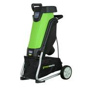 Greenworks 15 Amp Corded Shredder & Chipper 24052